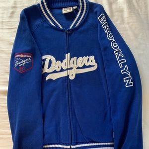 Vintage Brooklyn Dodgers Zip Up